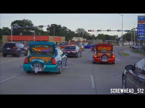 Houston Slab Scene - Slabs At MLK (Swang Action)