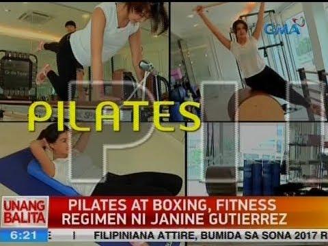 UB: Pilates at boxing, fitness regimen ni Janine Gutierrez