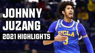 Johnny Juzang 2021 NCAA tournament highlights