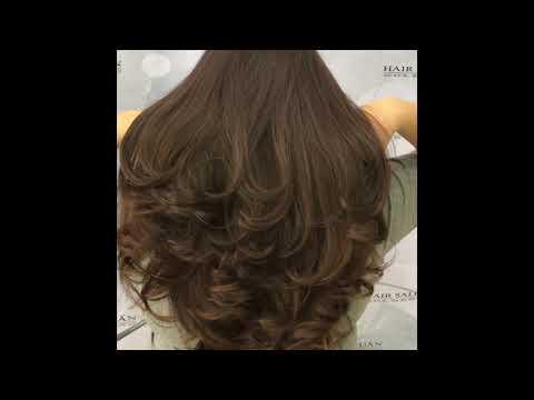 tóc uốn cúp lơi hàn quốc đẹp