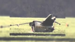 Видео с места аварии вертолета в Киевской области(Видео с места крушения военного вертолета в Васильковском районе Киевской области, в результате которого..., 2015-03-24T17:55:48.000Z)