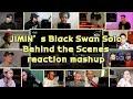 BTS JIMIN's Black Swan Solo Behind the Scenes #BANGTAN_BOMB|reaction mashup