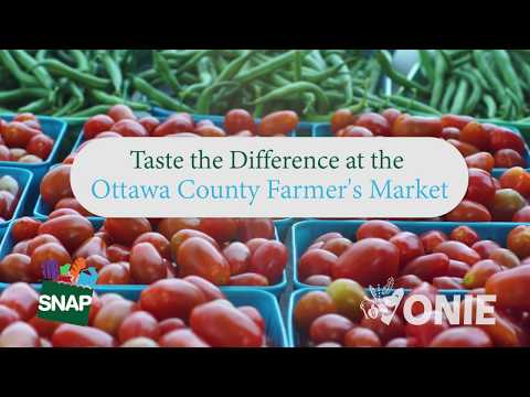 Taste the Difference at the Ottawa County Farmers Market