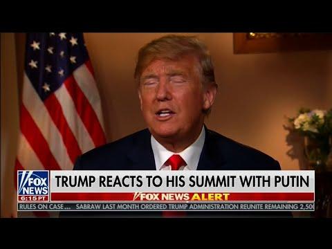 Trump Criticizes Summit 'Witch Hunt' Questions