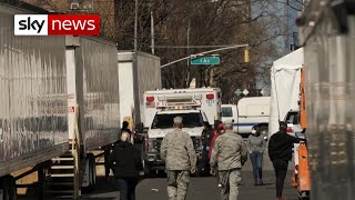 Coronavirus: 'Exhausted' morgue staff in New York struggle to cope with the dead