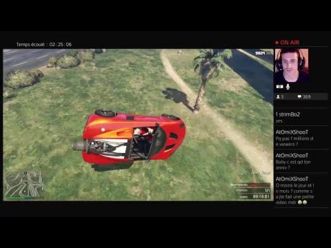 Live FR HD GTA5 /DEFI IMPOSSIBLE DE LASALLE - ROAD TO 4K - Bienvenue a tous sur ma chaine youtube dédiée aux stunts délires et wtf,tu y trouveras aussi du call of duty et  peu de minecraft et d'autres jeux.