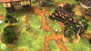 Ogre Kingdoms vs Vampire Counts Warhammer Fantasy Battle Report - Old World Wars Ep 07