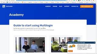 Multilogin - норм прога для создания разных браузерных профилей