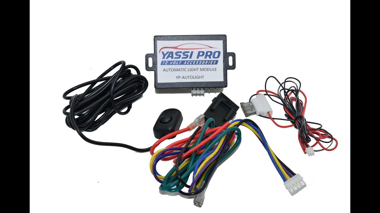 Automatic Light Add On Dodge Grand Caravan 2015 Youtube Electrics Wiring Diagram Trailer Plug