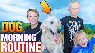 Puppy Morning Routine    Family Fun Pack Hana