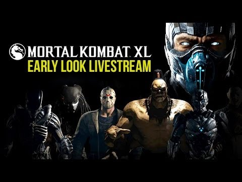 Mortal Kombat XL Early Look Livestream