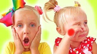 Alice and Eva - funny Boo boo story for kids