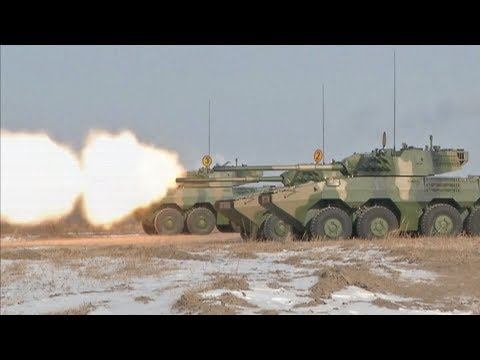 China's wheeled tanks pass challenging tests