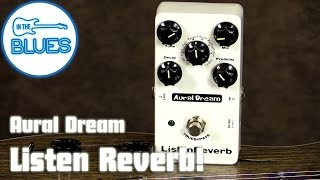 Aural Dream Listen Reverb Guitar Effects Pedal
