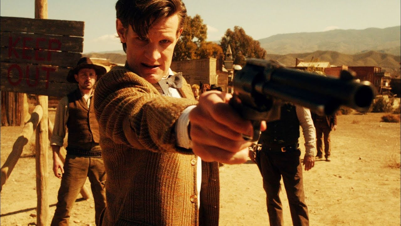 Image result for Eleventh Doctor town called mercy
