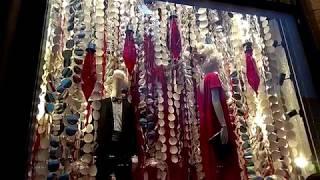 нОВОГОДНИЙ ДЕКОР 2018! Новогодние витрины магазинов КИЕВ Встречаем Новый год 2018