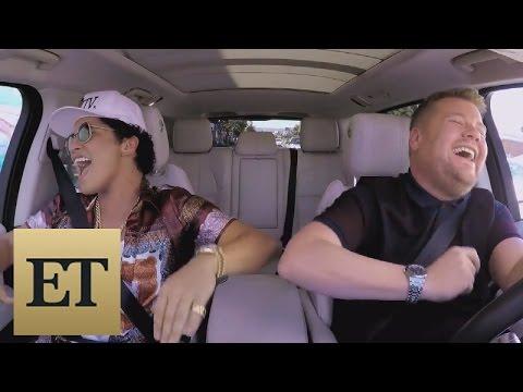 Secrets Behind Bruno Mars' Epic '24K Magic'-Filled 'Carpool Karaoke'