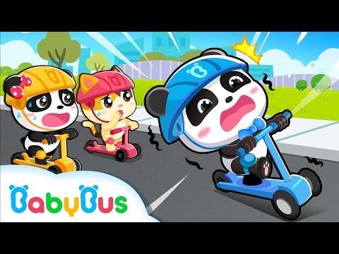 Tomar Bicicleta con Cuidado | Canciones Infantiles | Seguridad de Ni帽os | BabyBus Espa帽ol
