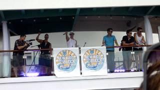 NKOTB Cruise 2011 Sail Away Party - Full Service