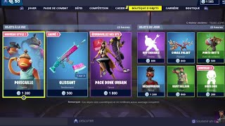 FORTNITE: March 24th Shop, NEW EMOTE GROS DUR, NEW STYLES SKIN POISCAILLE, item shop