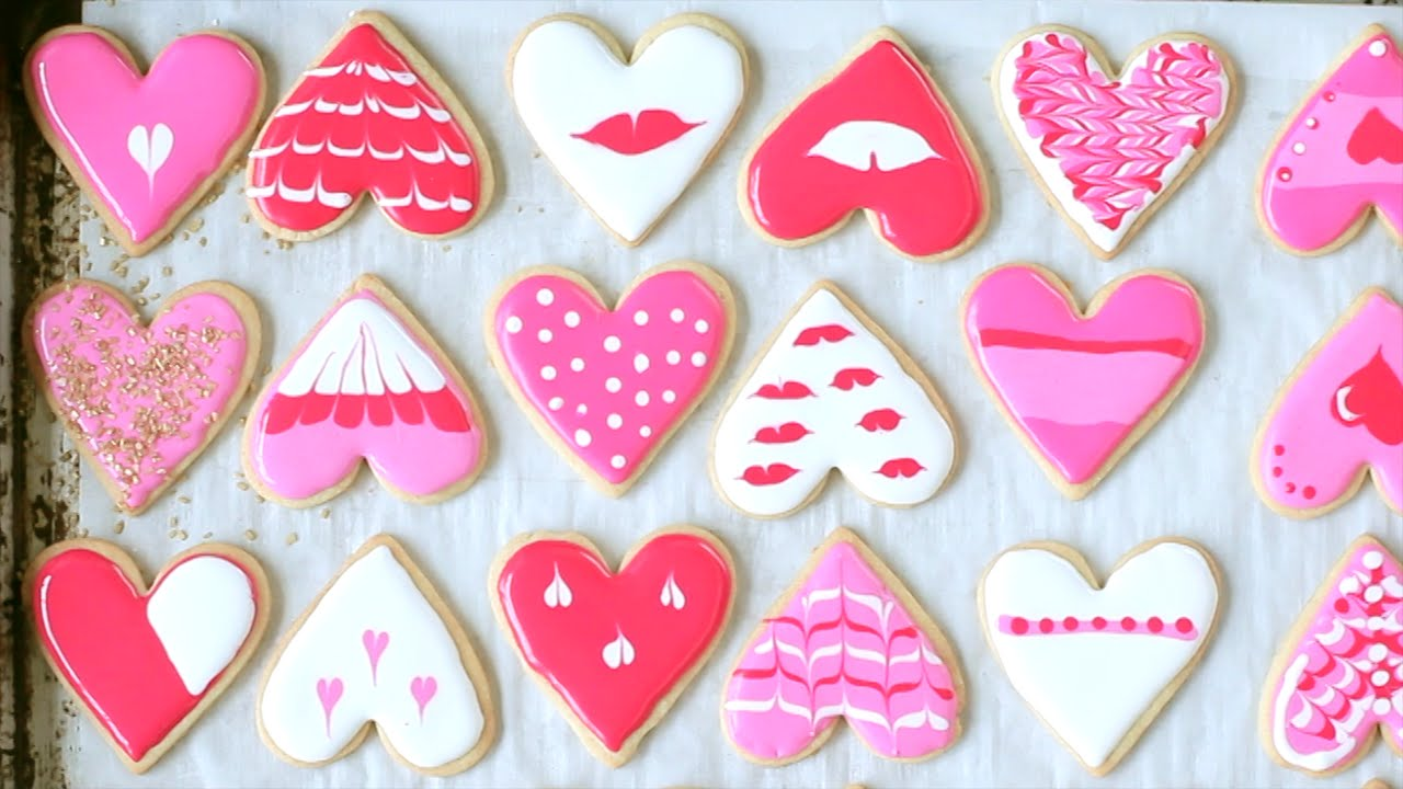 Como Decorar Galletas De Corazon Galletitas Decoradas Con Glasé Fluído