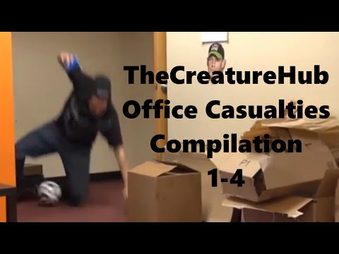 TheCreatureHub Office Casualties Compilation (1-4)