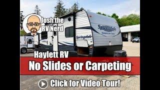 Used 2016 Springdale 2450RB Carpetless No Slide Couple's Camping Keystone Travel Trailer