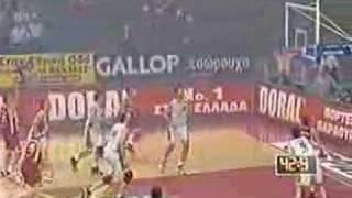 Olympiakos - Panathinaikos 53-62 (1999)