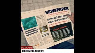 BRETT FAVRE: SHUT UP!
