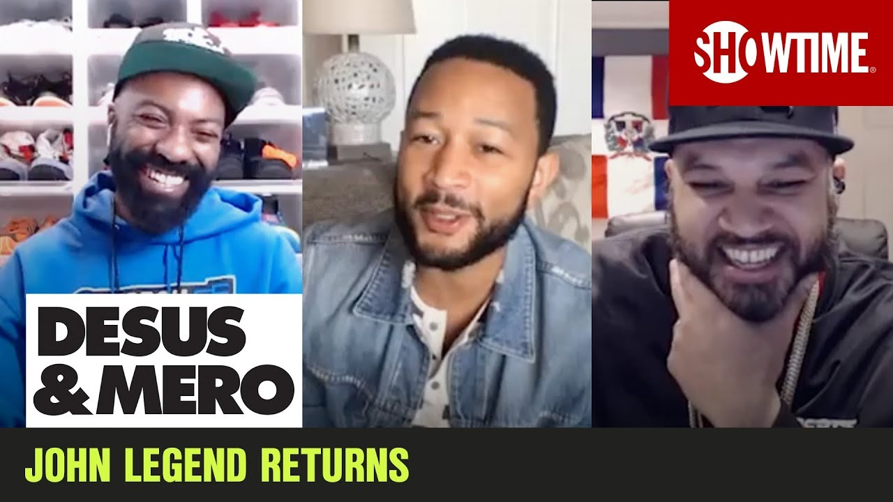 John Legend Makes a New Album While Social Distancing | Extended Interview | DESUS & MERO
