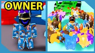 The OWNER Joined And Gave Me INFINITE PETS!! - Roblox Childhood Simulator
