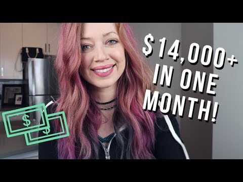 Make Money Blogging: How I Made $14,199.99 Last Month! JULY 2017