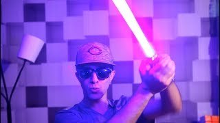 POWERFUL BLUE LASER TRICK SHOTS!