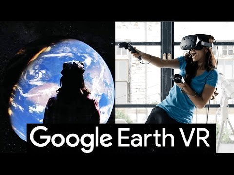 Must See! travel the world with Google earth virtual reality