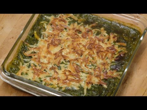 Baked Vegetables In Spinach Sauce | Sanjeev Kapoor Khazana