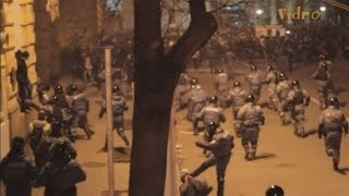 Shocking video emerges of police brutality in Ukraine