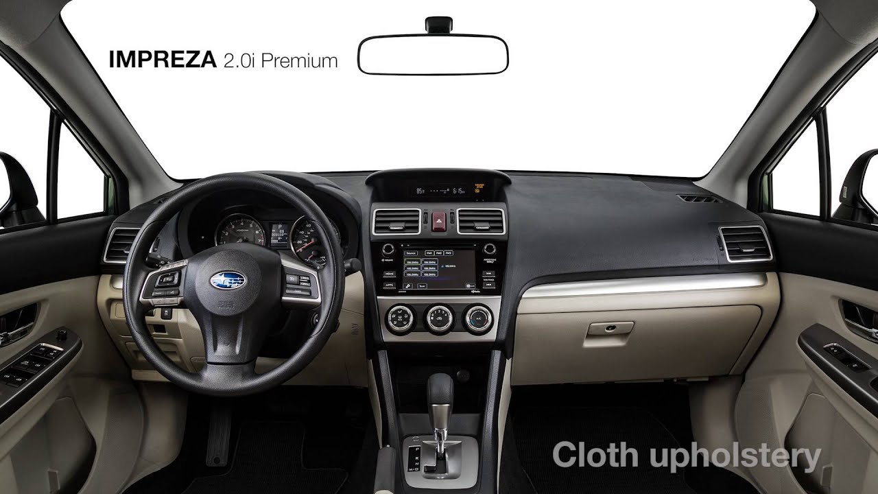 2016 Subaru Impreza 2 0i Premium