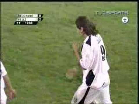 Mauro Zarate gol a Belgrano