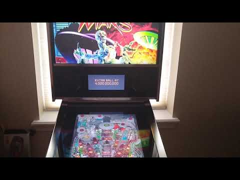 Arcade1up Attack From Mars Pinball is here (#@*&ing finally) #Arcade1up #AttackFromMars #Pinball from lacrossed55