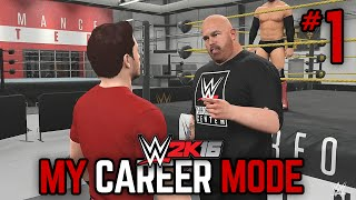 "WWE 2K16 My Career Mode - Ep. 1 - ""WELCOME BACK!"" [WWE MyCareer PS4/XBOX ONE/NEXT GEN Part 1]"