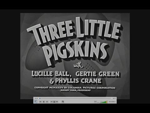 The Three Stooges Review - 004 Three Little Pigskins