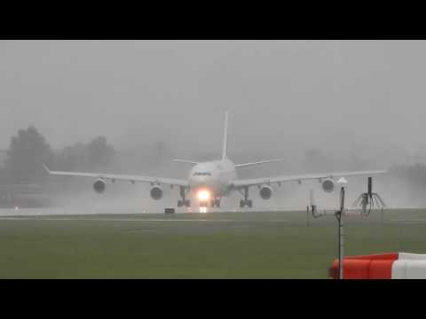 Last Air France A340 Take Off At Montreal YUL