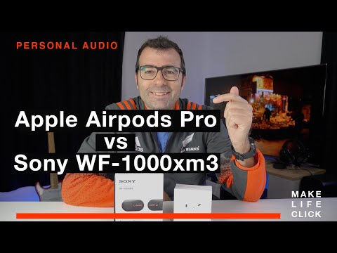 Apple AirPods Pro vs Sony WF-1000xm3 - Which is better?