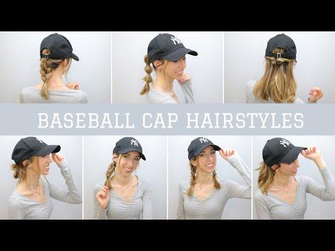 Acconciature per BERRETTO CON VISIERA ~ BASEBALL CAP HAIRSTYLES | Silvia Viscardi