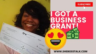 I Got a Business Grant! (How to Get Grant Funding for Your Business)
