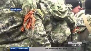В Красном Лимане боевики пытались захватить админздания