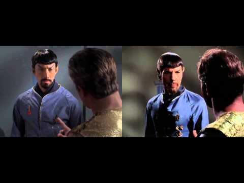 Star Trek Continues vs Star Trek - Cut To Cut Comparison