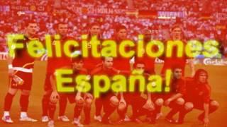 España gana el Mundial! (Waka Waka Lyrics Lírica Lirica Song)