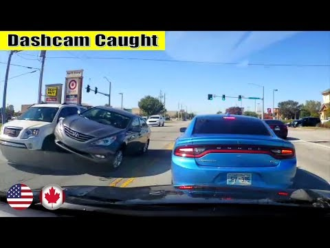 Ultimate North American Cars Driving Fails Compilation - 115 [Dash Cam Caught Video]