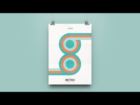 Illustrator Swatches Are So Powerful!! - Retro Poster Design thumbnail